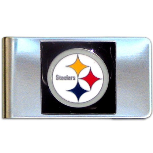 Nfl Money Clips - NFL Pittsburgh Steelers Steel Money Clip