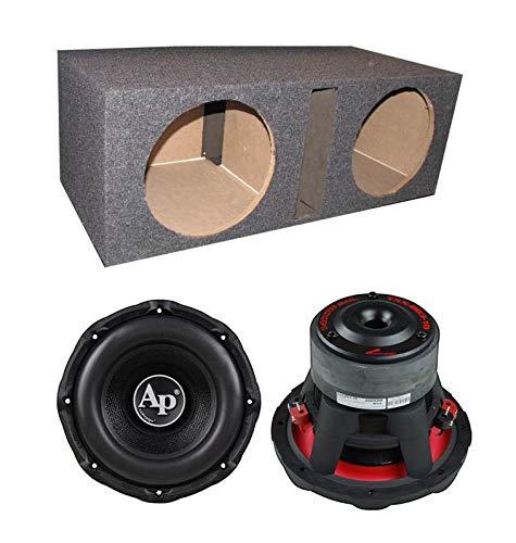 "Audiopipe New TXX-BD3-10 10"" 2800W Car Audio Subwoofers + Dual Vented Sub Box"