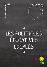Les politiques éducatives locales par Joao Palma