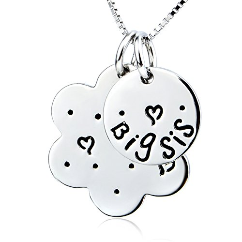 Sterling Personalized Engraved Pendant Necklace