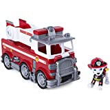 Paw Patrol PAW Patrol Ultimate Rescue - Marshall's Ultimate Rescue Fire Truck with Moving Ladder and Flip-open Front Cab, for Ages 3 and Up