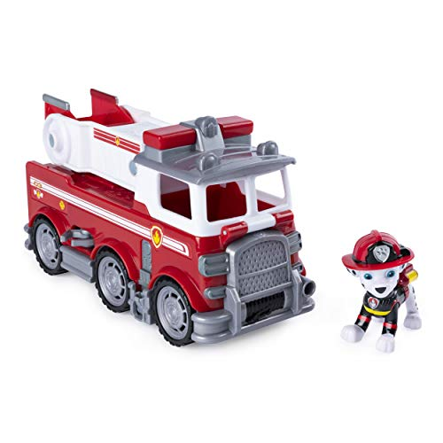 Paw Patrol Ultimate Rescue - Marshall's Ultimate Rescue Fire Truck with Moving Ladder & Flip-Open Front Cab, for Ages 3 & Up