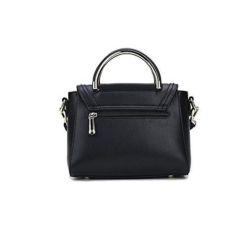élégant Bag Business Black Sac à Main Bandoulière Simple Bandoulière AJLBT Un Sac à F8q4fS6