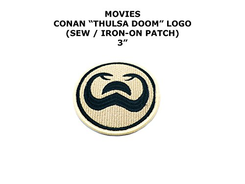 Thulsa Doom Conan the Barbarian Movie DIY Embroidered Sew or Iron-on Applique Patch Outlander (Thulsa Doom Costume)