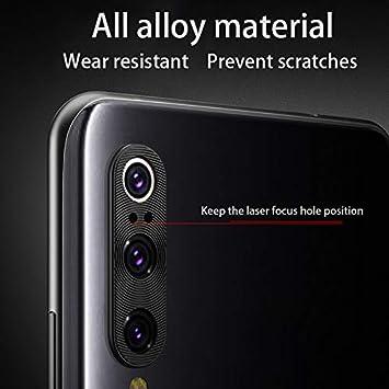 Blue Xiaomi Mi9 Back Camera Lens Cover 0.2mm Ultra Thin Metal Back Rear Camera Lens Screen Cover Case for Xiaomi Mi9 by TAOYUNXI