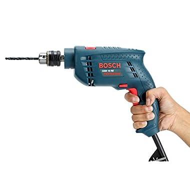 Bosch GSB 500W 10 RE Professional Tool Kit, MS & Plastic (Blue, Set of 100 Tools) 9