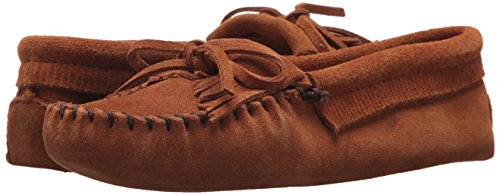 Mocasines brownbrown Mujer Para 102 Suede Marrón Minnetonka Moc Kilty wf7q61