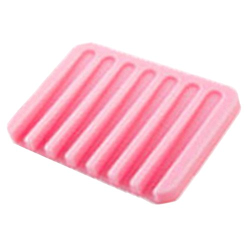 ieasycan-fashion-silicone-flexible-soap-dish-plate-115x8x1cm-soap-holder-soapbox-tray-drain-for-bath