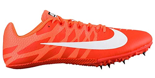 timeless design 0f53b bd3e9 Nike Zoom Rival S 9 Track Spike Team Orange White Cone Black Size 9 M US