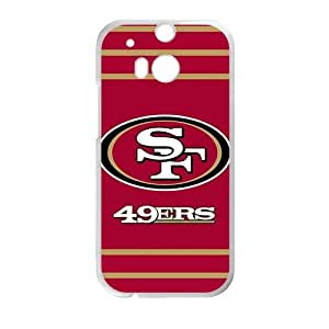 Happy 49ers Phone Case for HTC One M8