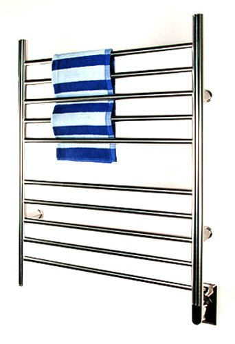 Amba RWH-SB Radiant Hardwired Straight Towel Warmer, Brushed