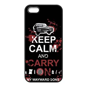 Happy Keep Calm And Carry Brand New And Custom Hard Case Cover Protector For Iphone 5s
