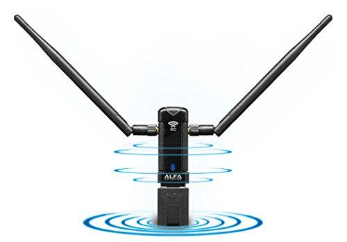 Alfa Long-Range Dual-Band AC1200 Wireless USB 3.0 Wi-Fi Adapter w/2x 5dBi External Antennas - 2.4GHz 300Mbps / 5Ghz 867Mbps - 802.11ac & A, B, G, N by Alfa (Image #6)