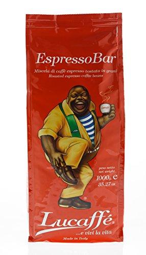 Lucaffe Espresso Bar, 1000 g, Bohne, orange