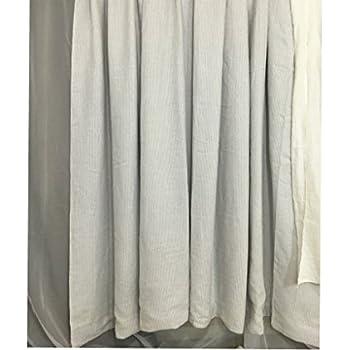 grey linen shower curtain. Stone Grey Ticking Stripe Shower Curtain  Mildew Free 72x72 72x85 72x94 Amazon com French Country Brindle Gray 75 x 84