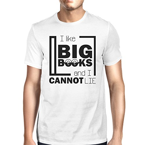 Like Books Homme Taille Cannot Lie T I Courtes White Manches shirt Big Printing Unique 365 wUqzPaz