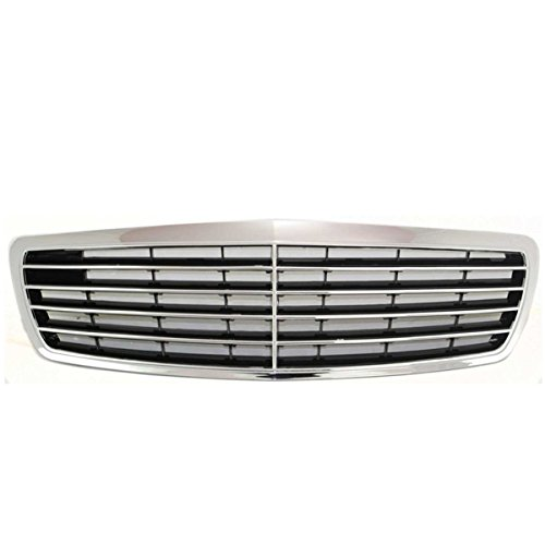 Koolzap For NEW 03-06 E-Class Front Grill Grille Assembly Chrome/Silver MB1200138 2118800383