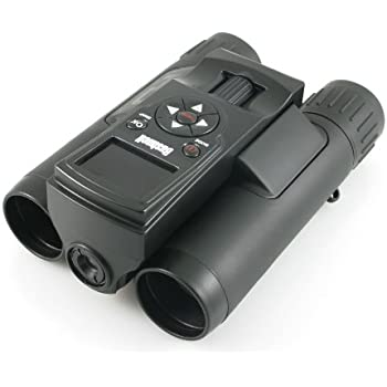 Bushnell ImageView 8 x 30mm Roof Prism Camera Binoculars with HD Video Recorder, Black