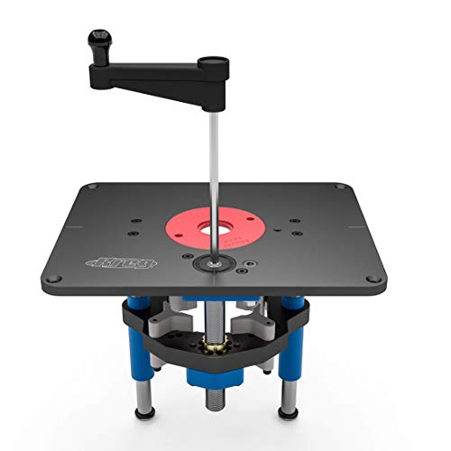 Kreg PRS5000 Precision Router Lift - Table Router Insert