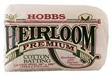 Hobbs Heirloom Premium 80/20 Cotton Blend Batting - 96'' X 15 Yards