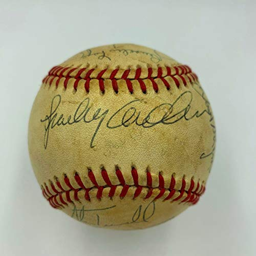 1984 World Series Champs - 1984 Detroit Tigers World Series Champs Team Signed AL Baseball With PSA DNA COA