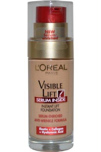 L'Oreal Visible Lift Serum Foundation Golden Beige 130 30ml L'Oreal Paris