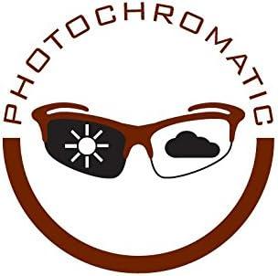 Laufbrille mit Wechselgl/äser Fahrradbrille oder selbstt/önend teilweise verspiegelt R2 Multi-Sportbrille Crown Crossbrille f/ür Damen und Herren schwarz, Selbstt/önend Radbrille Sonnenbrille