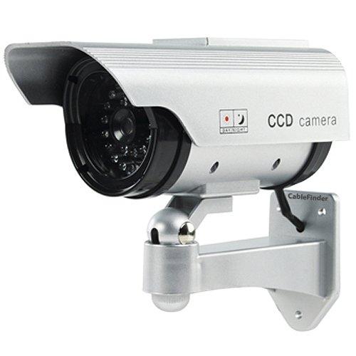 【超歓迎された】 アウトドアソーラーダミーCCTVセキュリティカメラ – – 点滅LED ip44 – – ip44 Imitation Fake B00FX0CEMO, タックルアイランド:f982298f --- a0267596.xsph.ru