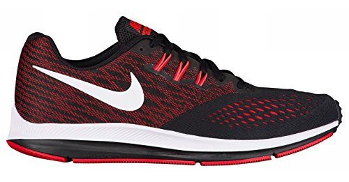 Crimson Nike 001 Red Winflo 4 Black White Uomo Trail da Scarpe University Total Multicolore Running Zoom qTU6xqw4