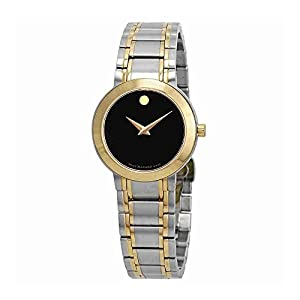 Movado Stiri Black Dial Ladies Watch 606951