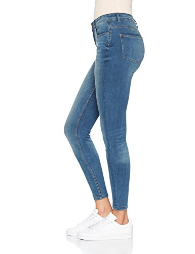 Skinny Femme Denim Only Medium Blue Bleu Jean 61OOqwxA