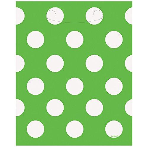 12-Latex-Lime-Green-Polka-Dot-Balloons-6ct