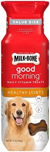 Milk-Bone Daily Vitamin Chewy Dog Treats for Dogs of All Sizes, 15 Oz., Healthy Joints