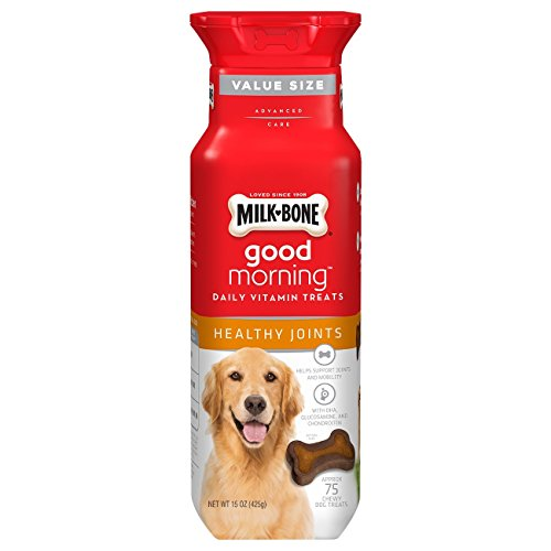 Milk-Bone Good Morning Daily Vitamin Dog Treats, Healthy Joints, 15-Ounce Bottle - 1-00-79100-00815-2 ()