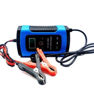 Amazon.com: iMarsTM - Cargador de batería LCD de 12 V y 6 A ...