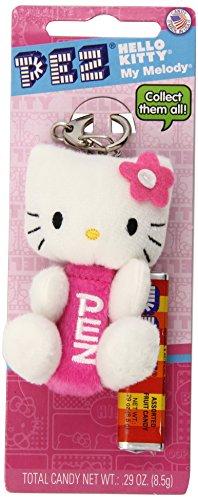 PEZ Candy, Hello Kitty Plush, 1.35 Ounce