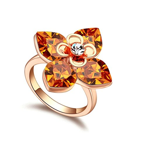 epinki-gold-plated-ring-womens-yellow-4-petals-flower-cubic-zirconia-4-petals-flower-ring-size-8