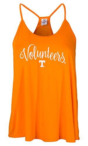 teers Rik HI-LO Lampshade Tank T-Shirt, X-Large, Orange ()