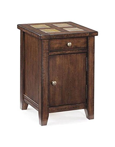 Magnussen Allister T1810-33 Wood Square Accent Table ()