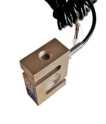 Pull Pressure Force S-type Load Cell Sensor with Cable 5KG 10KG 30KG 100KG 200KG 300KG 500KG 1T 1.5T 2T 3T 5T ()