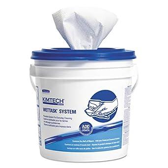 Kimtech Prep - Limpiaparabrisas para desinfectantes y desinfectantes (06211), sistema higiénico cerrado,