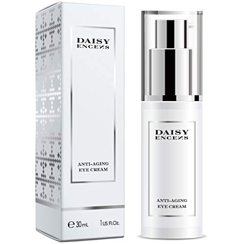 (DAISY ENCENS Eye Cream for Appearance of Dark Circles, Puffiness, Wrinkles and Bags - for Under and Around Eyes -30ML)