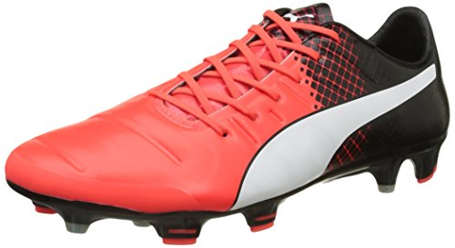 Blk 3 Football Puma Homme Red Evopower Amricain de Chaussures 1 Wht Rouge FG 76ExAxw4qC