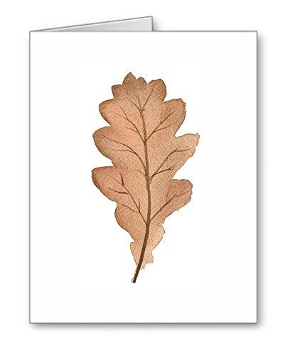 Oak Leaf - Set of 10 Note Cards With Envelopes