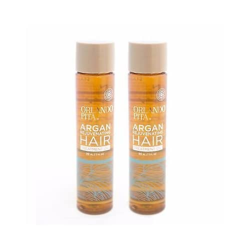 2 Orlando Pita Argan Rejuvenating Hair Treatment W Moroccan Argan Oil, 1 Oz Ea