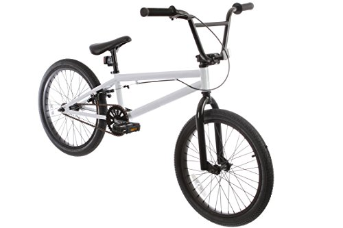 framed forge blank bmx bike white 20