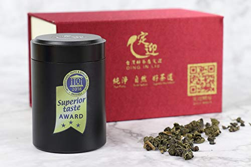 DING IN Lalashan Oolong Tea Small Aluminum Can 10g2can/Box X2 by Ding In ltd. (Image #3)