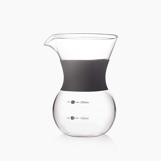 KAFEIHU Vaso de café cafetera de Mano/cafetera de Goteo ...