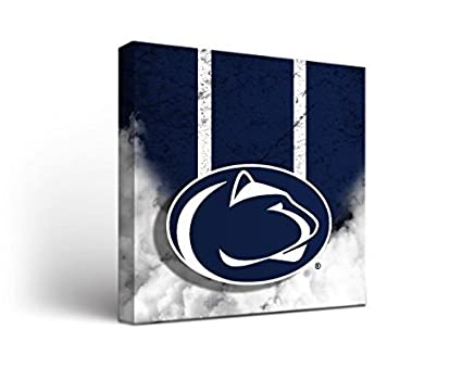 Amazoncom Penn State Psu Nittany Lions Canvas Wall Art Vintage