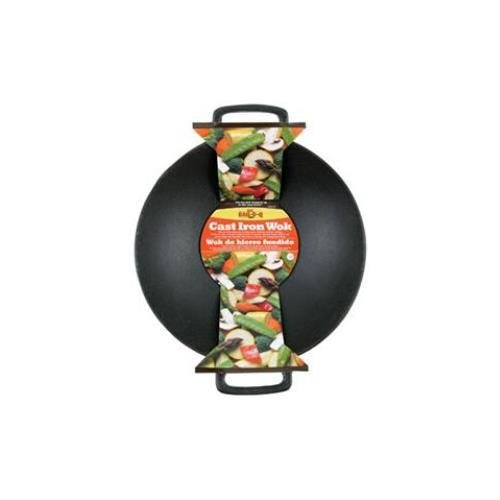 mr bbq cast iron wok - 2